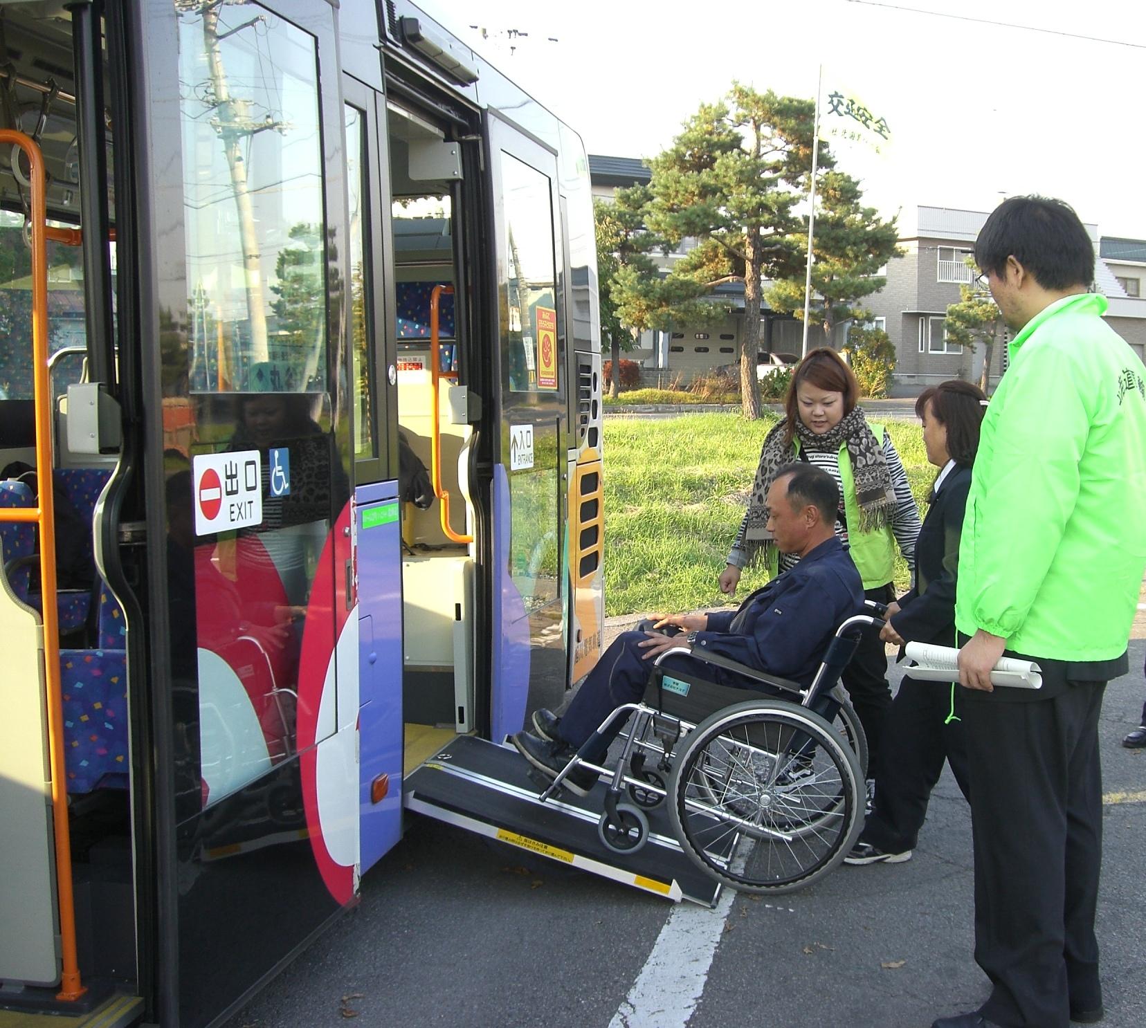 旅とぴあ北海道ブログは下記にリニューアルしました↓バス運転手の方を対象に「バリアフリー教室」が行われました