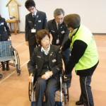 駅西口_車椅子操作方法指導